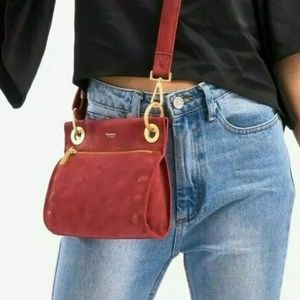 Hammitt Red Brick House Crossbody Purse Handbag
